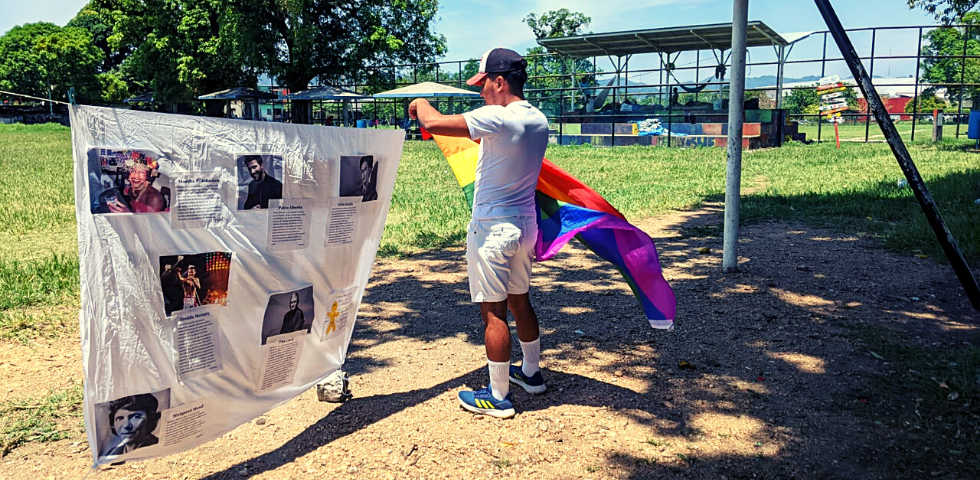 Migration and violence for being from the LGBTI community